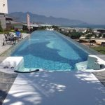Transparent Plastic Roof for Swimming Pool