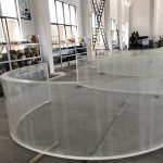acrylic curved clear thick acrylic sheet pmma cheap