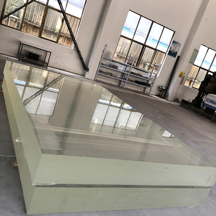 crystal acrylic sheet flat plastic thick sheet