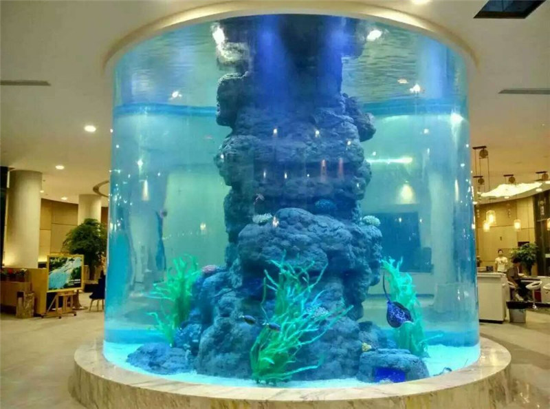 crystal fish tank