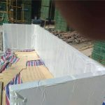 90mm custom acrylic cover swimming pool