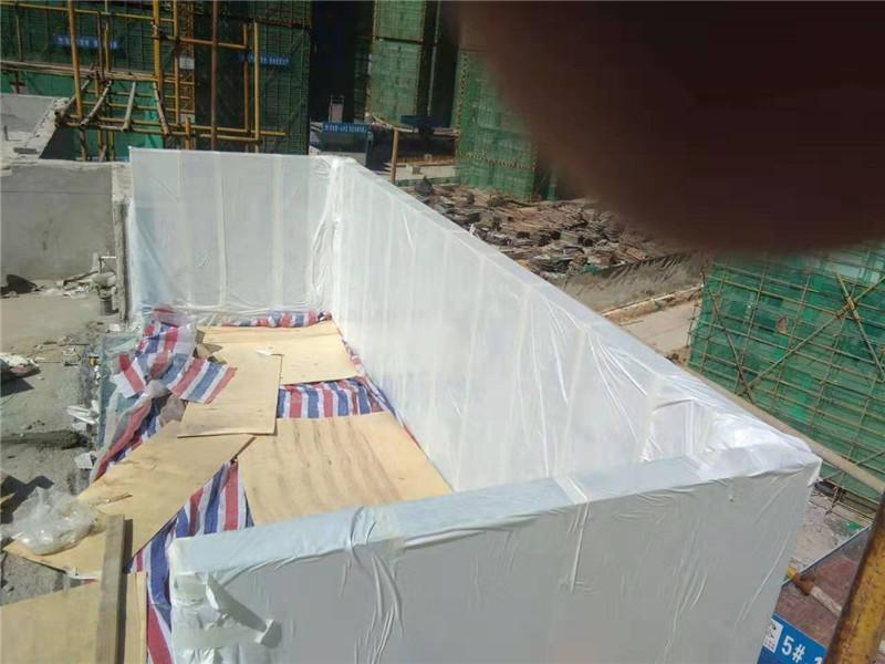 90mm custom acrylic cover swimming pool