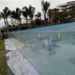custom cut outdoor acrylic swimming pool panels
