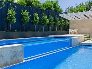 hot swim pool swimming pool
