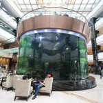 large plastic fish animal aquarium tanks