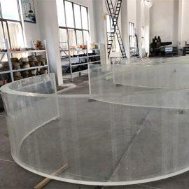 mirror acrylic curved plastic sheet for fish tank aquariums
